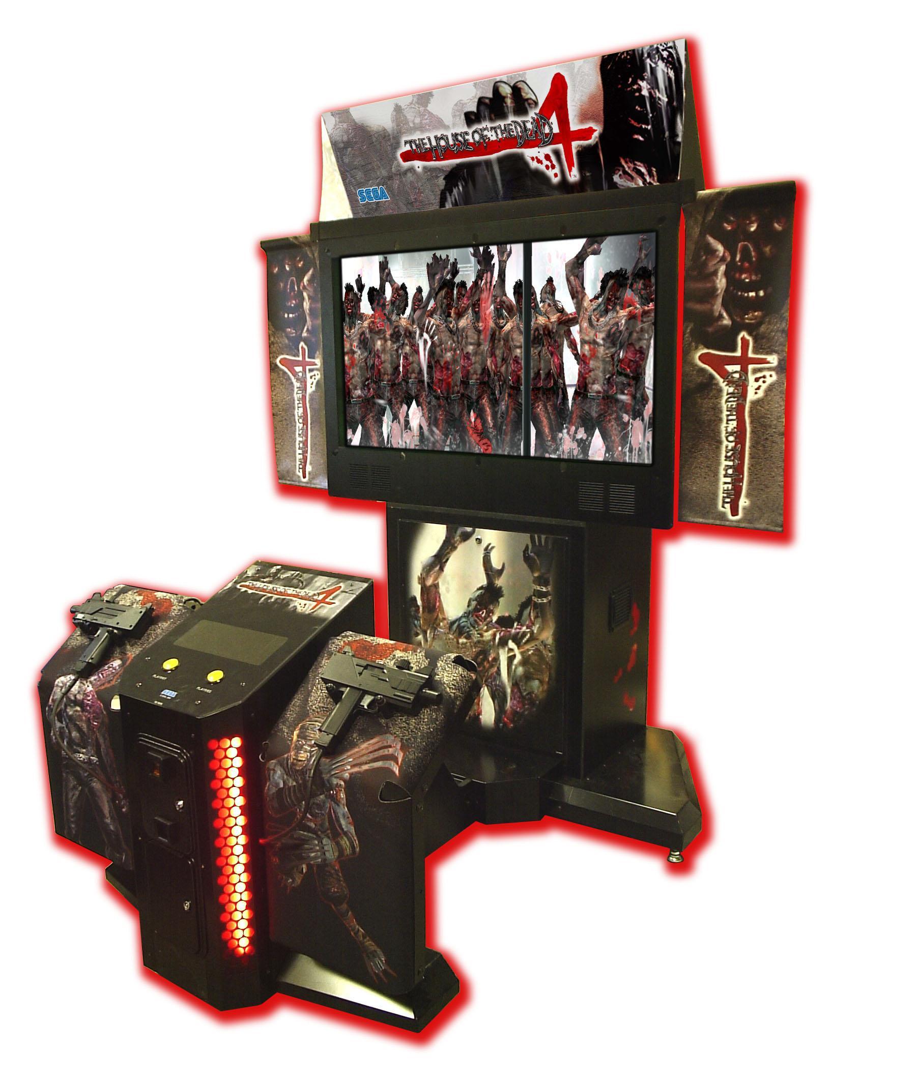Wii U Arcade Machine : House of dead dx sega vente
