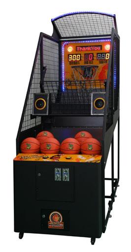 borne arcade basket